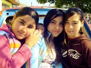 Cata, Kari y Francisca
